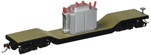 (Bachmann Trains Center-depressed Flat Car with Transformer)