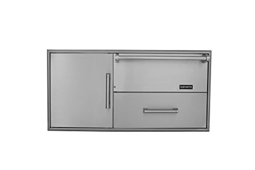 Coyote CCD-WD Combo Drawers Warming Drawer and Access Doors by Coyote