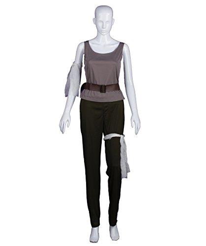 Halloween Party Online Tomb Raider Lara Crofts Costume, Grey Adult (XL) - Costume Raider Tomb