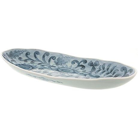 Hasami Yaki Flower 12 9inch Large Bowl Porcelain Made In Japan