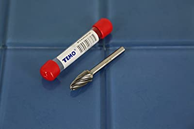 "TEMO SF-5 NF Aluminum Cut 3"" L CARBIDE BURR FILE 1/4"" SHANK 1/2"" HEAD Round Tree 1A7 from Golden Coulee"