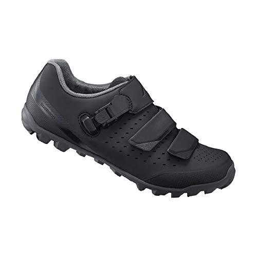 SHIMANO SH-ME301 LSG Series Versatile Enduro, All Mountain, Off-Road Women's Bicycle Shoes, Black, 46