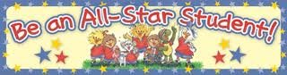 Little Suzy's Zoo Be an All Star Student 4 Foot Bulletin Board Banner Photo #2