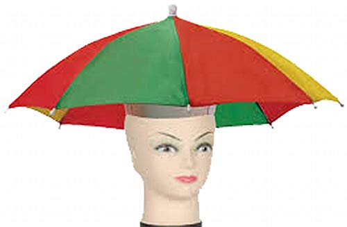 Loftus Star Power Stay Dry Rainbow Classic Umbrella Party Hat, One -