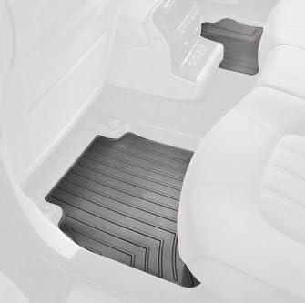 Black WeatherTech Custom Fit Rear FloorLiner for Nissan Maxima