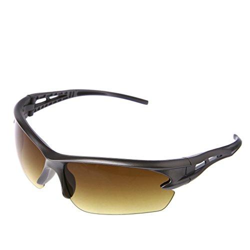 protección gafas de par 1 de sol en Marrón deportes UV ciclismo Logres caliente motocicleta para qTag7nF