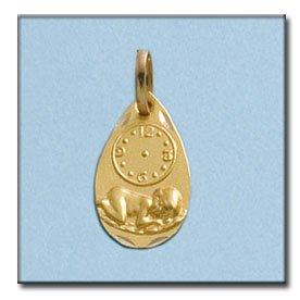Medalla Con Reloj D'or
