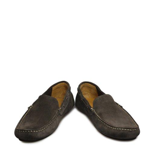 Loake - Botas de ante para hombre gris gris gris - gris