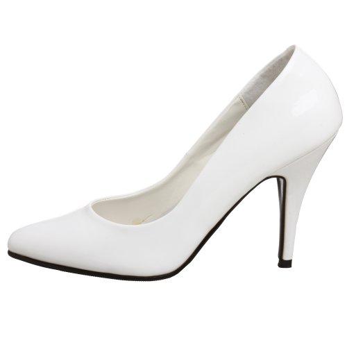 Pleaser 420 Vanity Blanco Mujer Zapatos 007wrxqH