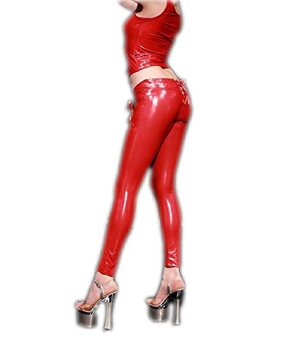 Donna Pantaloni Lazutom Pantaloni Lazutom Red Red Donna Pantaloni Lazutom 7Ry60q