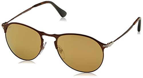 Persol Sonnenbrille (PO7649S) Matte Brown / Brown 1072W4