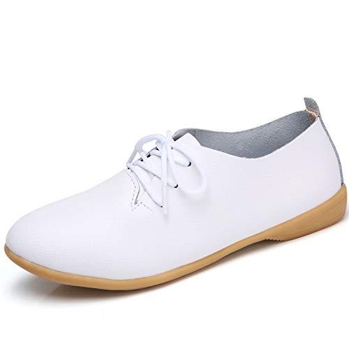 Blanc 43 Taille ZHRUI Chaussures coloré EU Blanc qFafwE