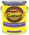 - Cabot Solid Color Acrylic Decking Stain Acrylic Exterior Driftwood Gray Opaque 1 Gl