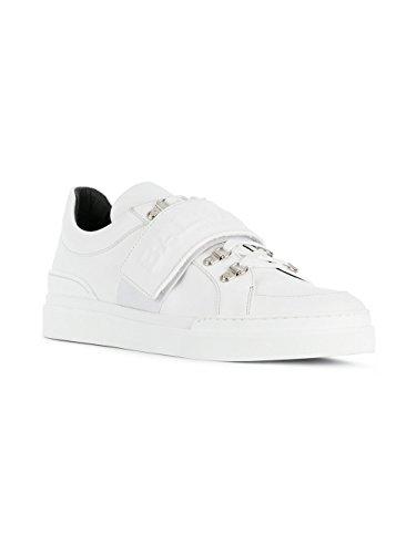 Herren Leder Sneakers Balmain Weiss S8HC123PVPM100 HdxT0Rq