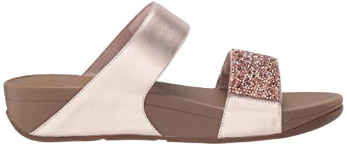 Chanclas Sparklie 323 Slide rose Roxy Fitflop Para Rosa Mujer Gold wt6fwRax