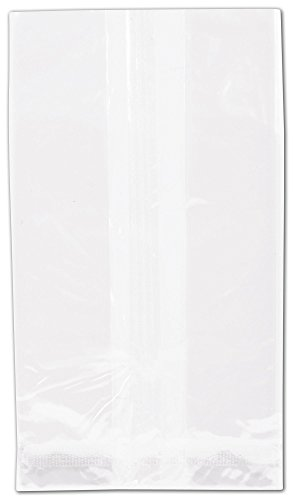 NatureFlex TM Biodegradable Clear Cello Bags, 5 3/4x7 3/4'' (1000 Bags) - BOWS-69-05D by Miller Supply Inc
