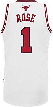 Adidas - Camiseta de baloncesto de Derrick Rose de los Chicago Bulls de la NBA Talla:large: Amazon.es: Deportes y aire libre