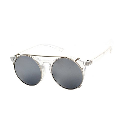 HaiBote Retro Punk Double Dual-use Plug-lens Sunglasses For Men And - Oakley How Clean Lenses To