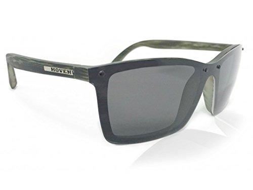 HOVEN Sunglasses BIXBY Polarized (SEAWEED MATTE, GREY - Sunglasses Hoven Polarized