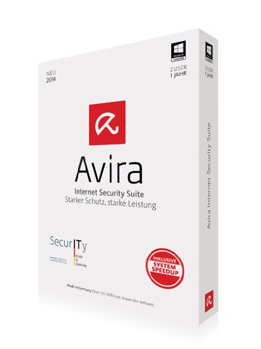 Avira Internet Security Suite 2014 - 2 PCs / 1 Jahr