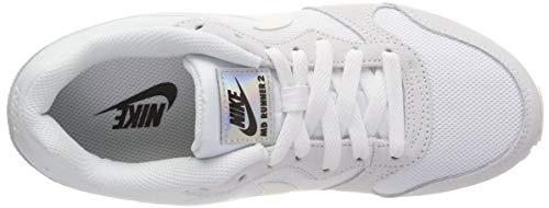 Nike 102 Chaussures De sail white Md Blanc Running Femme Wmns Runner 2 UPUqfr