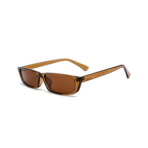 MINCL/Bold Small Frame Sunglasses Stylish Fashion Designer Rectangle ...