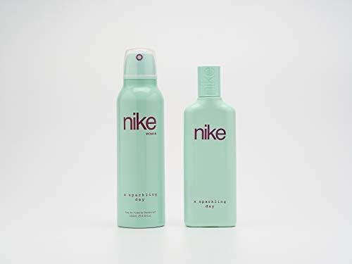 Nike - A Sparkling Day Estuche de Regalo para Mujer, Eau de Toilette 75 ml y Desodorante en Spray 200 ml: Amazon.es: Belleza