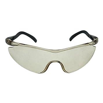 LamberthcV Gafas de ojo para niños, gafas de seguridad para pistola Accesorios para proteger los ojos al aire libre niños regalos juguete pistola gafas 3 colores opción azul azul