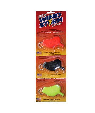 Storm Whistle Scuba Diving and Water Sport Safety Whistle World's Loudest Scuba Dive Diving Police Camping Boating Rafting ORANGE (single)