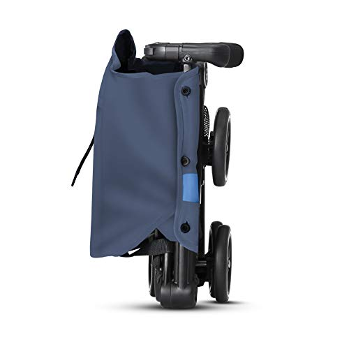 31XEKsbvzUL - Gb Pockit+ All-Terrain, Ultra Compact Lightweight Travel Stroller With Canopy And Reclining Seat In Night Blue