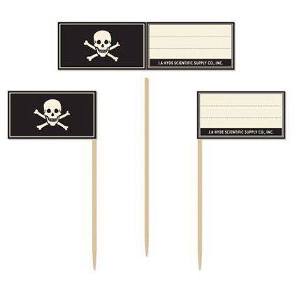 Martha Stewart Pirate/Halloween Skull & Crossbones Food