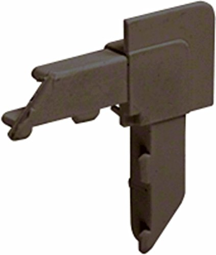 Bronze Square Lip Frame Plastic Corners for WSFL8 Pack of 100 ()