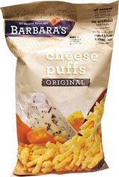 Barbara's Bakery Cheese Puffs Original 7oz Bags (12 pack)