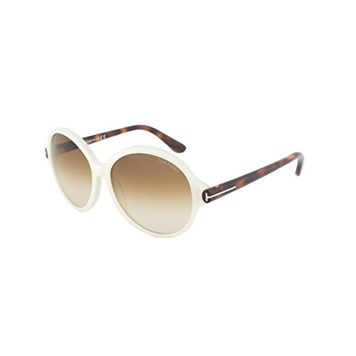 Tom Ford Women's Milena Sunglasses, Ivory/White by Tom Ford