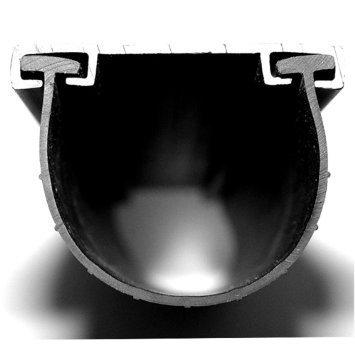 Garage Door Parts Clopay T-end Bottom Rubber Seal - 4 1/2
