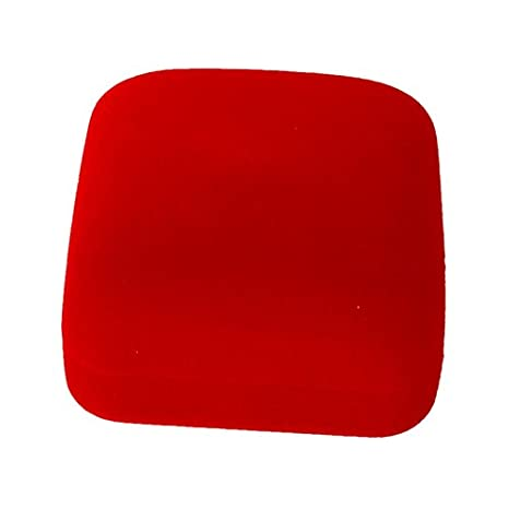 WOVELOT 1 pz Estuche Caja de Joya Rojo Regalo Anillos aretes ...