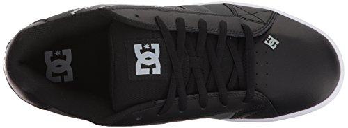 Black Blk Net DC Shoes Gry XKKS Shoes Men's Low Sneaker Top xwC8Rq1C0