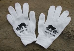 Border Collie Training Gloves - Come & Away (Agility Border Collies)