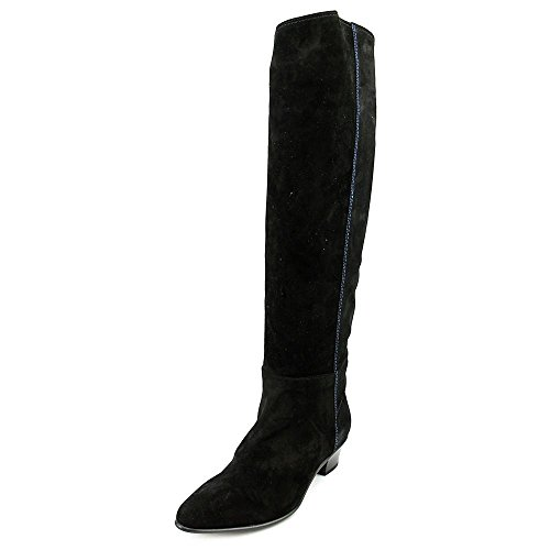 Costume National Suede Boots (Costume National Stivale Women US 7.5 Black Knee High Boot)