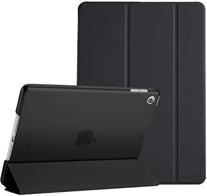 ProCase iPad 10.2 Case 2019 iPad 7th Generation Case, Slim Stand Hard Back Shell Protective Smart Cover Case for iPad 7th Gen 10.2 Inch 2019 (A2197 A2198 A2200) -Black