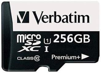 Verbatim - Tarjeta de Memoria microSDXC de 256 GB con ...