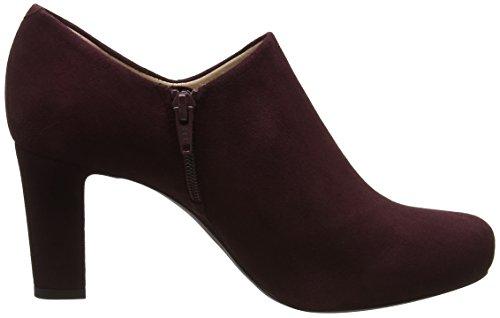 f17 Grape para Zapatos de Tacón Rojo Mujer Nenet KS Unisa 4waF5Rqv