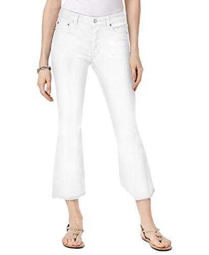 (Michael Michael Kors Petite Kick-Flare Jeans (White, 10P))