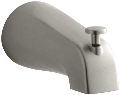 KOHLER 15136-S-BN K-15136-S-BN Coralais Diverter Bath Spout, Vibrant Brushed Nickel (Brushed Nickel Spout)