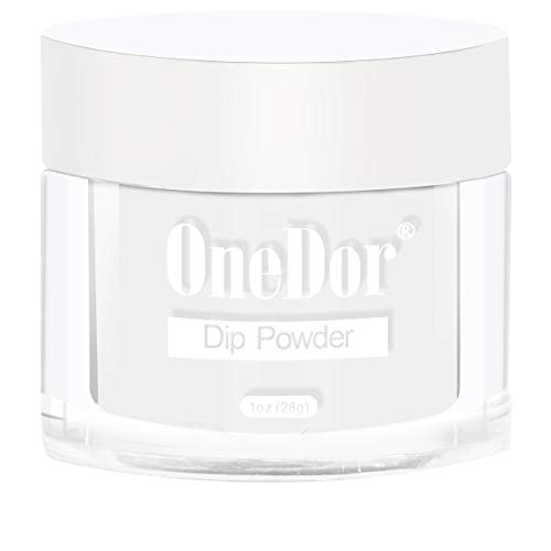 OneDor Nail Dip Dipping Powder - Acrylic Color Pigment Powders Pro Collection System, 1 Oz. (FW1 - ()