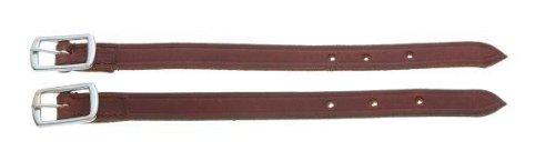 Tough-1 Straight Leather Stirrup Hobble Straps