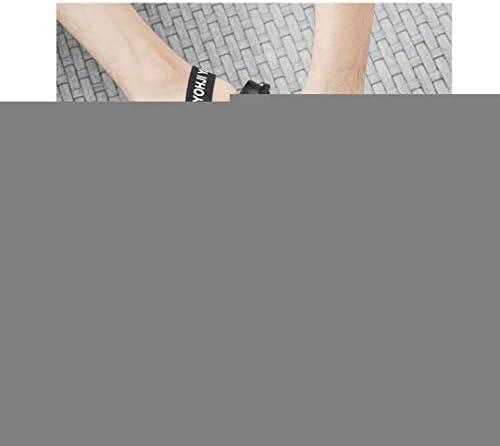 サンダル メンズ 革 軽量 スリッパ ファッション ビーサン 23.5-27.5センチ バンドサンダル 通気 ブラック かかと付きサンダル