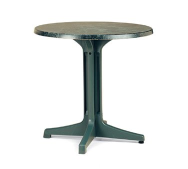 Grosfillex Exterior Table Top 30'' round - 99831108