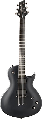 Washburn PXL10EC Parallaxe PXL Series Solid-Body Electric Guitar, Carbon Black Finish
