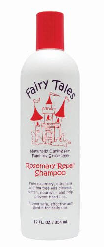 Fairy Tales Repel Shampooing, Rosemary, 12 Fluid Ounce